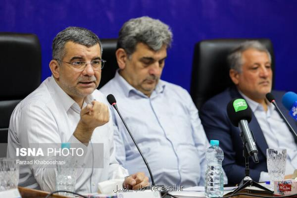 معاون کل وزارت بهداشت: حوزه سلامت تهران حال خوبی ندارد، شهرداری کمک نماید