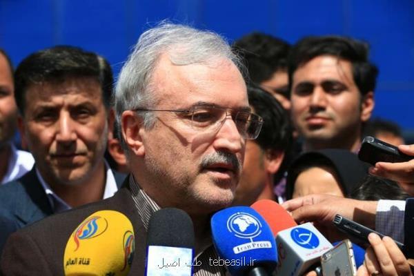 وزیر بهداشت اعلام کرد ۵۹ کشته در حادثه روز گذشته کرمان