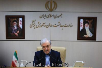 وزیر بهداشت خبر داد انجام تست های حیوانی واکسن ایرانی کرونا