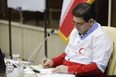 با حکم همتی؛ سرپرست مراکز درمانی هلال احمر ایران در دبی انتخاب شد