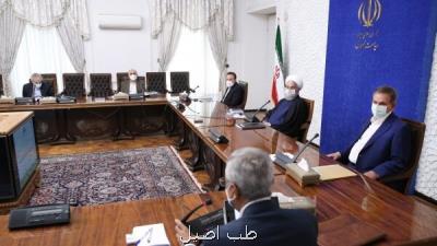 روحانی در جلسه ستاد هماهنگی اقتصادی دولت: اهتمام دولت به بخش سلامت در سالهای بعد از انقلاب بی نظیر بوده است