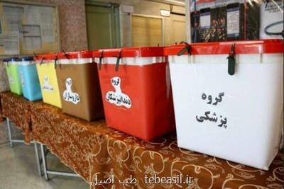 ۲۵ تیرماه هشتمین دوره انتخابات سازمان نظام پزشکی