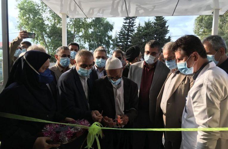 با حضور معاون وزیر بهداشت ؛ راه اندازی بخش دیالیز بیمارستان محمودآباد