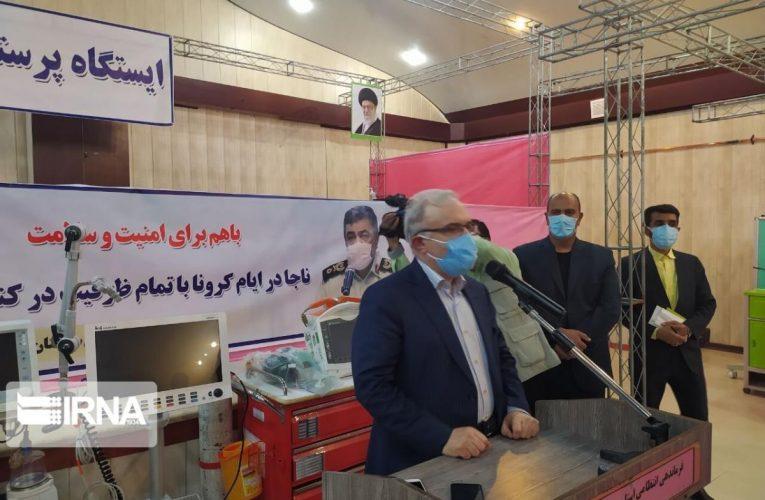وزیر بهداشت: نیروی انتظامی در بحث کرونا همراهی خوبی داشته است