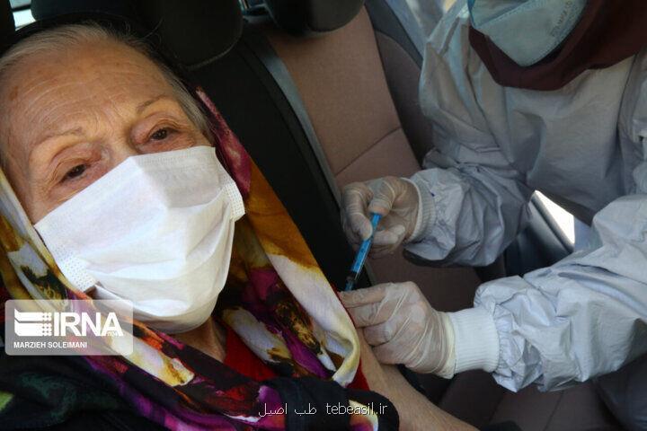چهارهزار نفر در رضوانشهر واکسن نوبت اول کرونا را دریافت نمودند