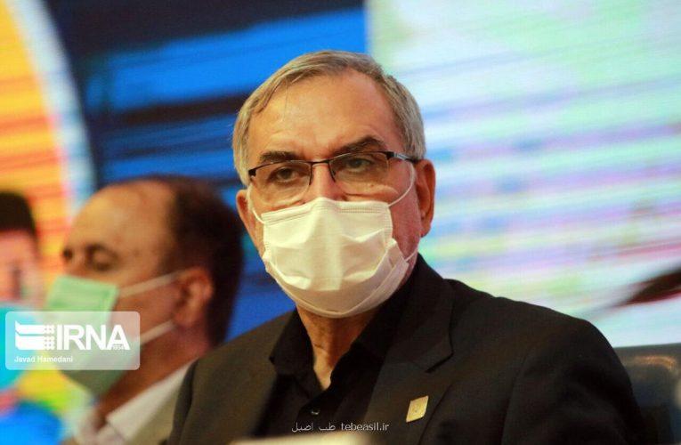 وزیر بهداشت: بیشتر از ۵۰ درصد مردم واکسینه شده اند