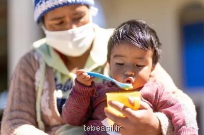 یونیسف: بیشتر نوزادان در ۹۱ کشور گرفتار سوء تغذیه هستند