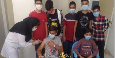 اجرای طرح ضربتی واکسیناسیون دانش آموزان شهر تهران
